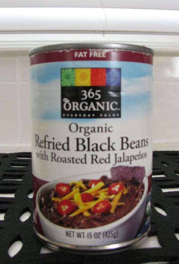 a black beans can